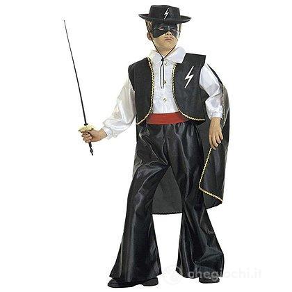 Costume Zorro Bandito mascherato 5-7 anni