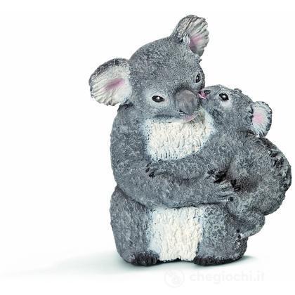 Koala femmina con cucciolo (14677)