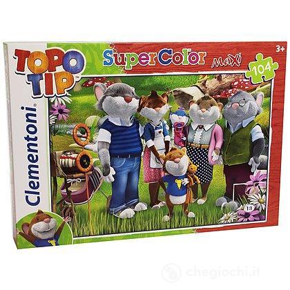 Topo Tip MaxiPuzzle 104 pezzi (23681)