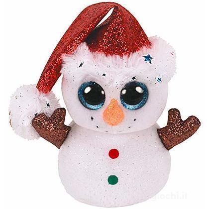 Beanie Boos 15 cm Flurry Pupazzo di Neve Natale