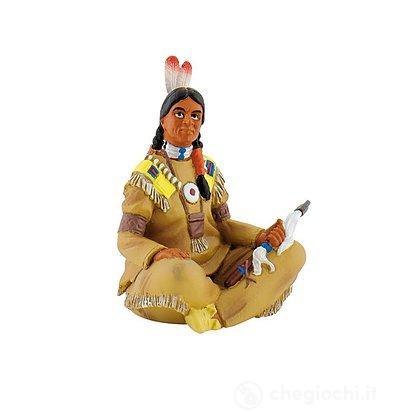 Western - Indiano con Ascia (80683)