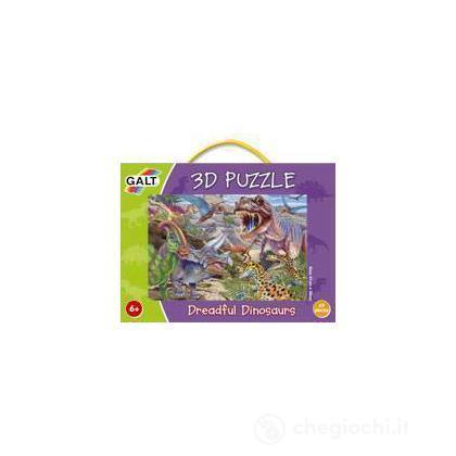 Puzzle 3D - Spaventosi dinosauri