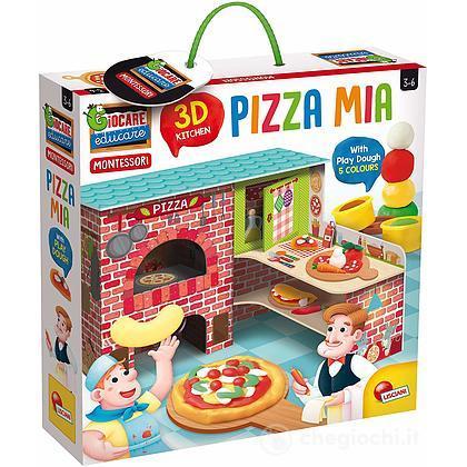 Montessori Pizza Mia 3D + Plastilina (76833)