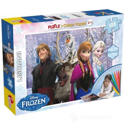 Puzzle Color Plus Super 108 Frozen
