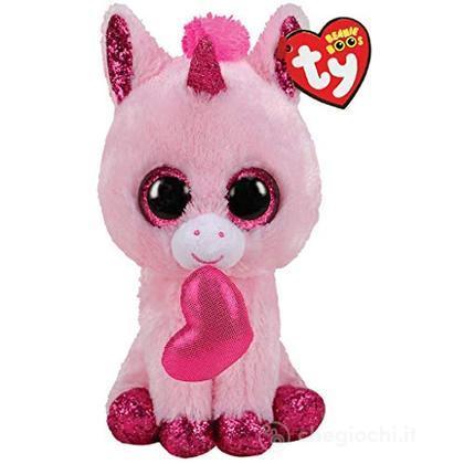 Peluche Unicorno Darling cuore Ty Beanie Boo (TY36685)