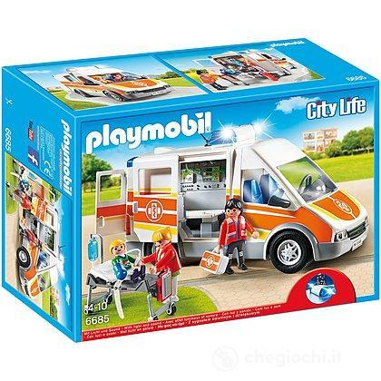 Ambulanza luci e suoni (6685)