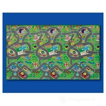 Tappeto gioco città 55686