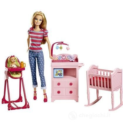 Barbie Baby Sitter - Barbie I Can Be! Playset (BLL72)