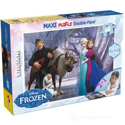 Puzzle double-face Supermaxi 60 Frozen