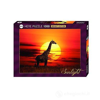 Puzzle 1000 Pezzi - Giraffa al Sole