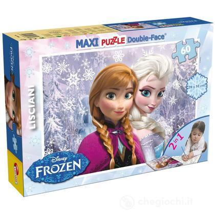 Puzzle double-face Supermaxi 60 Frozen