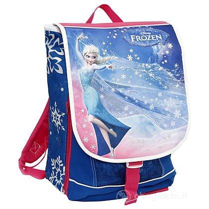Frozen Zaino Scuola Estensibile con luci (87841)