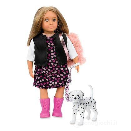 Bambola Lori Doll & Dalmatian Dog (LO31058Z)