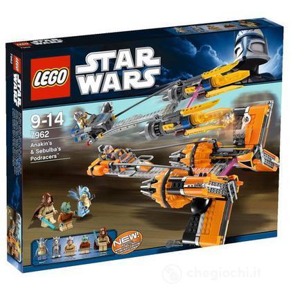 LEGO Star Wars - Anakin's & Sebulba's Podracers (7962)