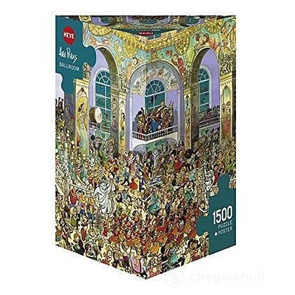 Puzzle 1500 Pezzi Triangolare - Sala da Ballo