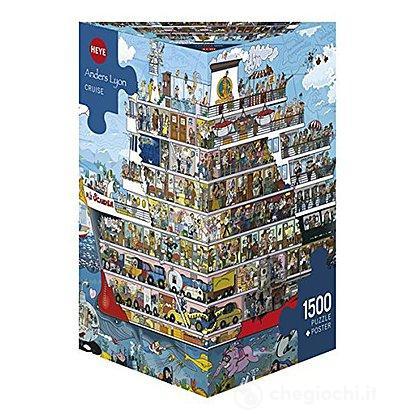 Puzzle 1500 Pezzi Triangolare - Crociera