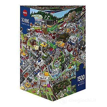 Puzzle 1500 Pezzi Triangolare - Ingorgo Stradale