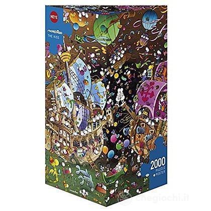 Puzzle 2000 Pezzi Triangolare - The Kiss