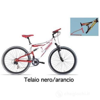 """Bici 26"""" Erice 200 Black-Orange"""