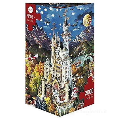 Puzzle 2000 Pezzi Triangolare - Bavaria