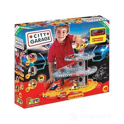 Garage 3 Livelli con auto (LN702)
