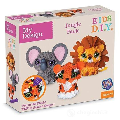 My design Animaletti Giungla 3D Set (77037)