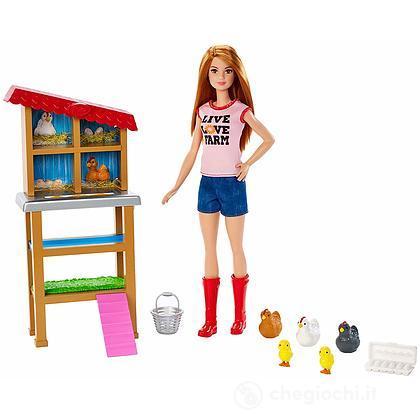 Barbie Contadina Fattoria dei Polli (FXP15)