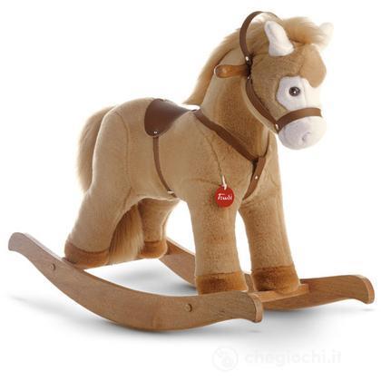 Cavallino cavalcabile beige