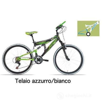 "Bici 24"" Erice Bianco/azzurro"