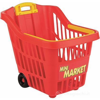 Trolley spesa rosso (104504401)