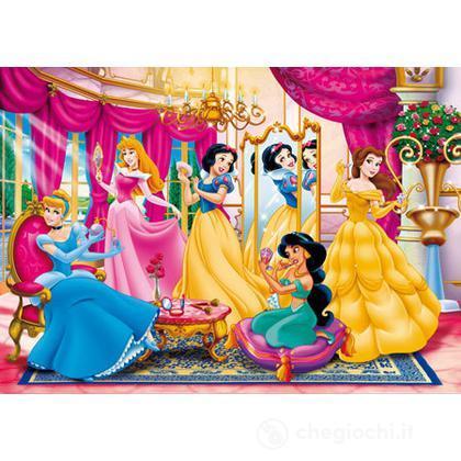 Puzzle 104 pezzi princesse al trucco
