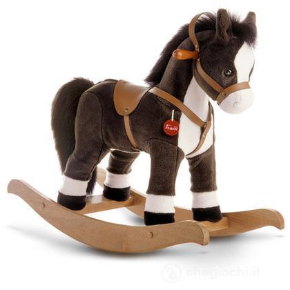 Cavallino cavalcabile marrone