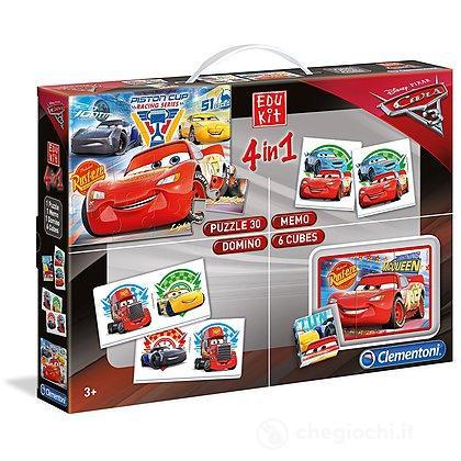 Edu Kit 4 In 1 Cars 3 (13710)