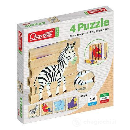 4 Puzzle Jungla (710)