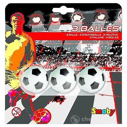 3 palline in plastica calciobalilla (7600140711)