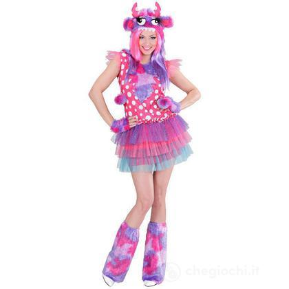 Costume adulto Monster Girl Pink M (01712)