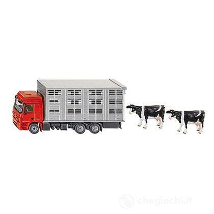 Camion trasporto animali 1:50 (2713)