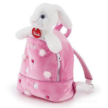 Coniglietto zainetto rosa S (29718)