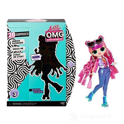 L.O.L. Surprise Omg Doll 3 Roller Chick