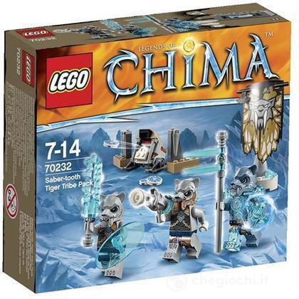 Tribù Tigri dai denti a sciabola - Lego Legends of Chima (70232)