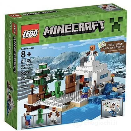 Nascondiglio nella neve - Lego Minecraft (21120)