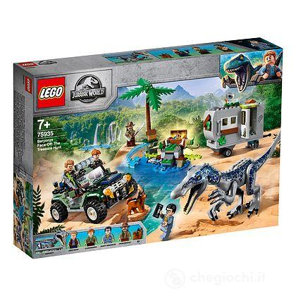 Faccia a faccia con il Baryonyx: caccia al tesoro - Lego Jurassic World (75935)