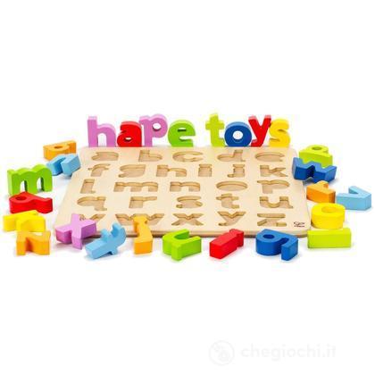 Puzzle alfabetico con lettere minuscole (E1503)