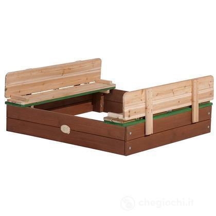 Sabbiera Sandbox Ella con panchina