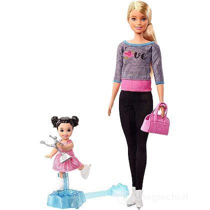 Barbie maestra di pattinaggio (FXP38)