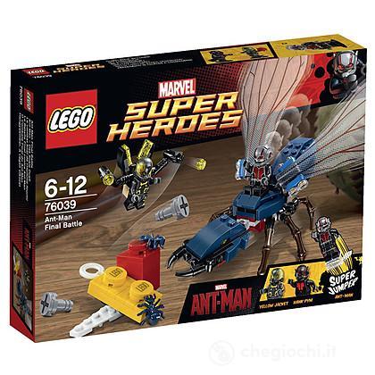 La battaglia finale di Ant-Man - Lego Super Heroes (76039)