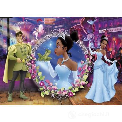 Puzzle 104 pezzi La principessa e il ranocchio