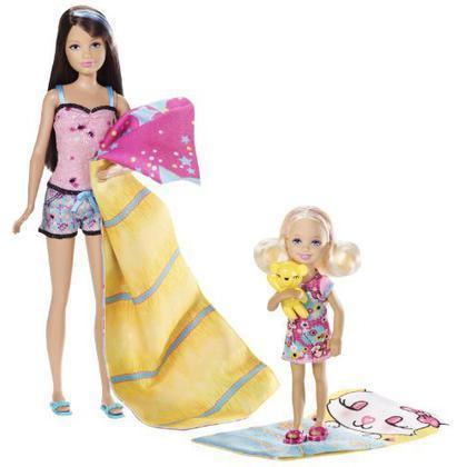 Barbie e le sue sorelline - Tenda da campeggio (V4397)