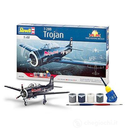 """T-28 Trojan """"Flying Bulls"""" incl. Accessories"""