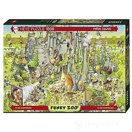 Puzzle 1000 Pezzi - Habitat Giurassico